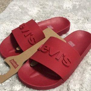 LEVIS 3D Slide Red sz9